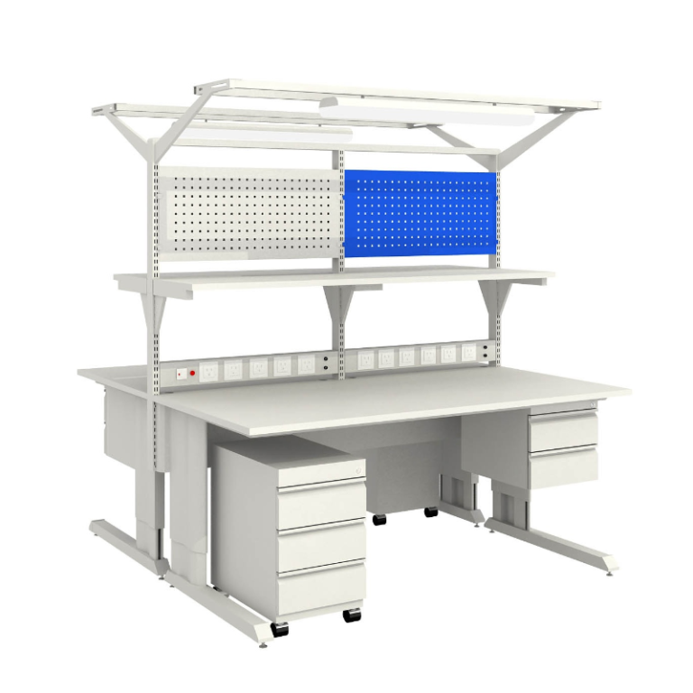 B0501-AH-4 ESD Industrial Double Side Workbenches