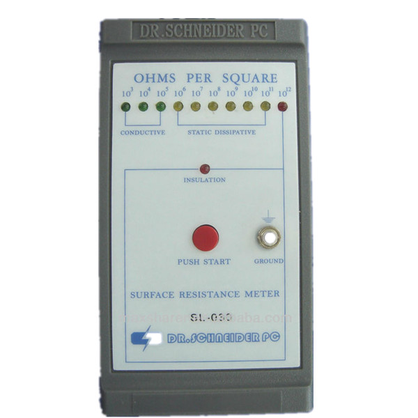 E0501 Precision esd mat surface resistance tester for esd products