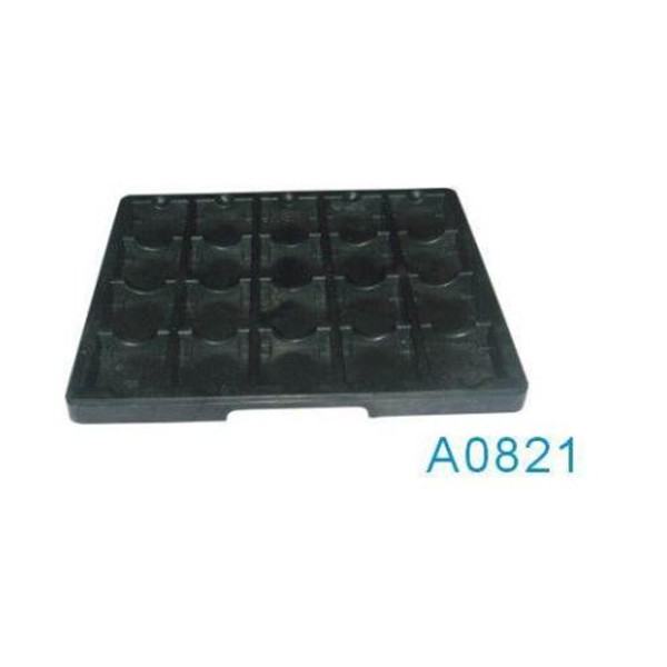 A0821 ESD tray 65*65*25 small grids