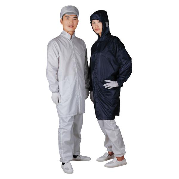 Cleanroom antistatic overcoat C0110