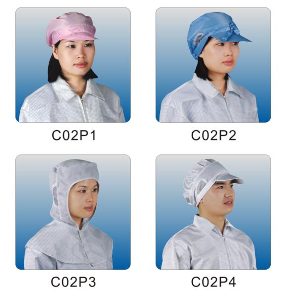 Cleanroom hat C02