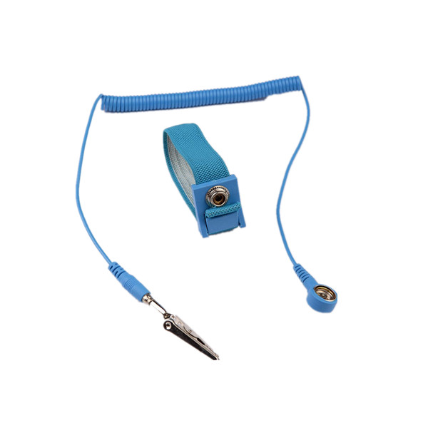 WS01-EC-1006 Hot sale electrostatic discharge wrist strap  good usage  ESD wrist strap