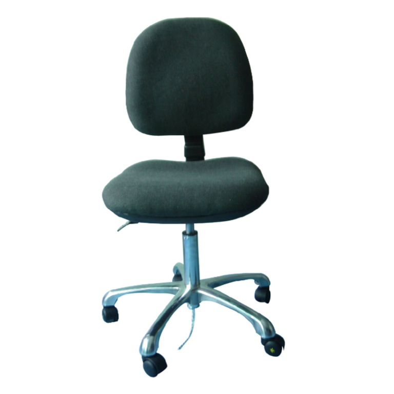 B0307 Trinal Adjustable ESD Cleanroom Fabric Chair