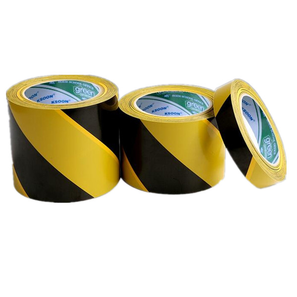 A16  Excellent Adhesion Colorful Floor Marking PVC Warning Tape