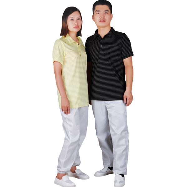 Antistatic polo t shirt