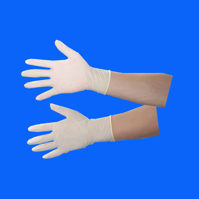 Cleanroom latex gloves lets
