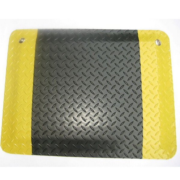 D0404-S-YB  High quality PVC rubber mat conductive  Anti-fatigue mat