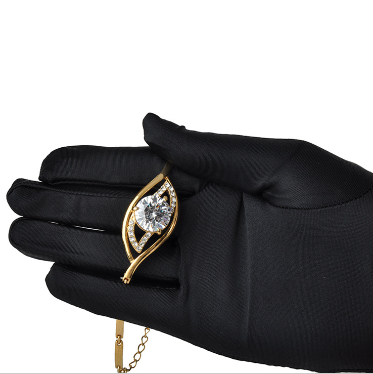 Polyester gloves for Jewelry C0513