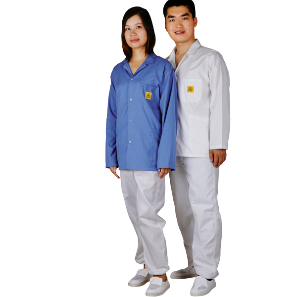 clean room antistatic smock C0102-2