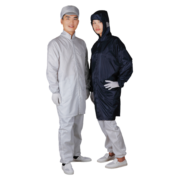 Cleanroom antistatic overcoat C0110