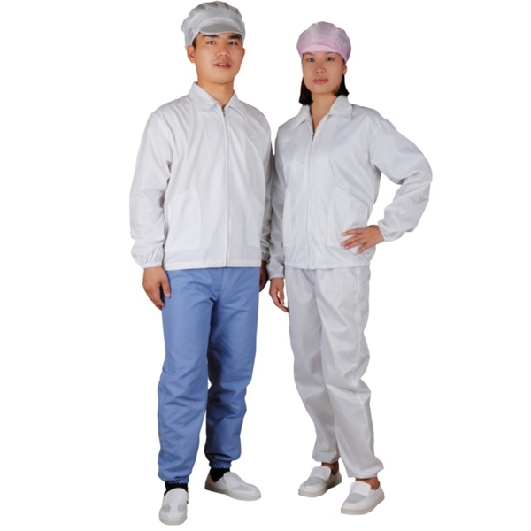 C0103 ESD antistatic jacket for cleanroom workshop worker