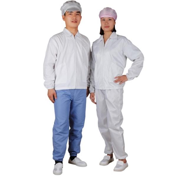 C0103 ESD antiestático chaqueta para Cleanroom taller trabajador