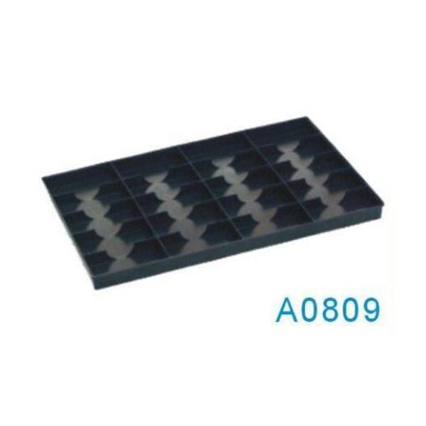 A0809 20 celosías ESD bandeja de plástico