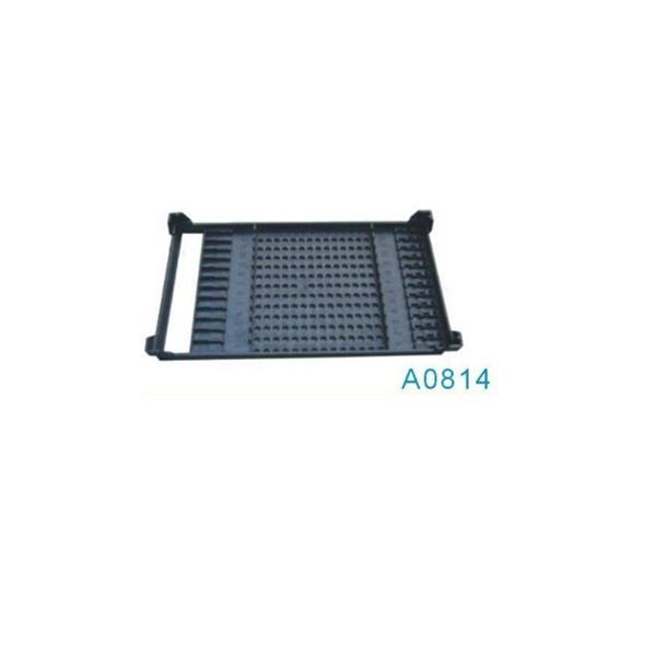 A0814 ESD bandeja de plástico con agujeros