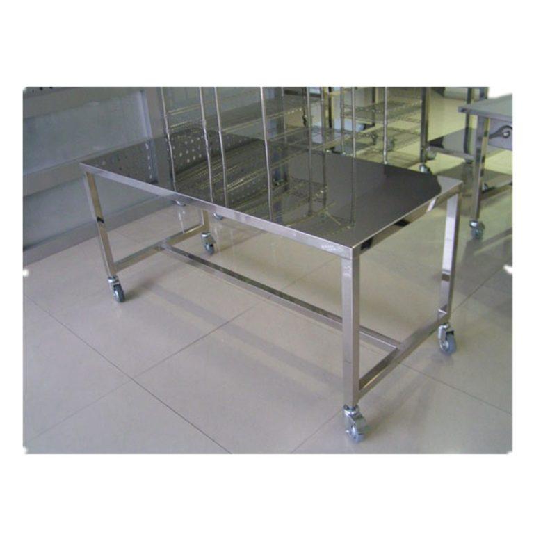 B0502 Mesa de trabajo de acero inoxidable