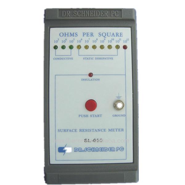 E0501 Probador de resistencia de superficie de estera esd de precisión para productos esd