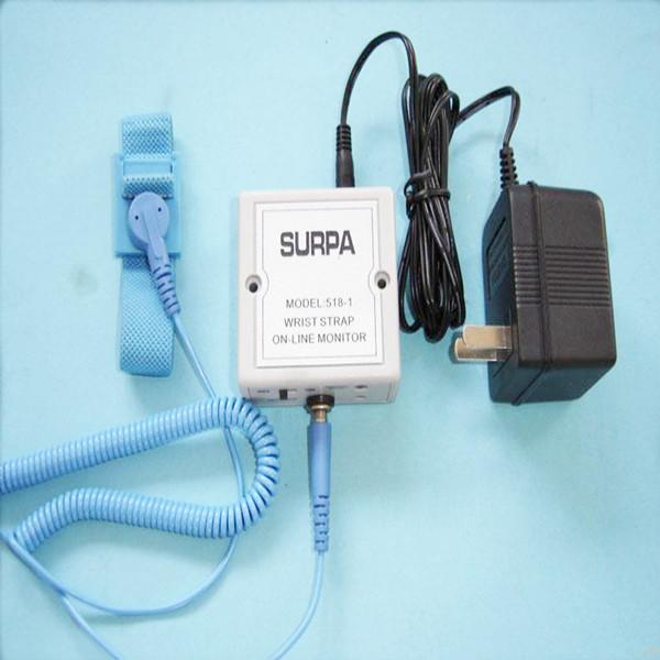 E0803 Muñequera esd antiestática de alta frecuencia / monitor en línea