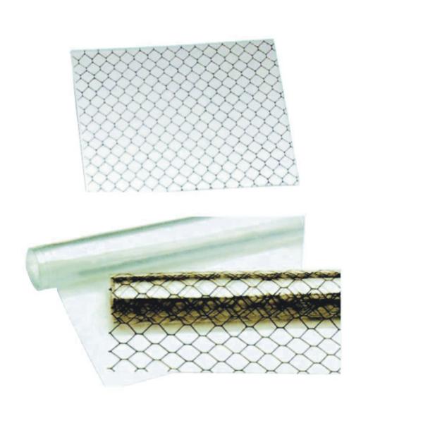 D06 ESD cortina de ventana transparente antiestática cortina de panal ESD pvc