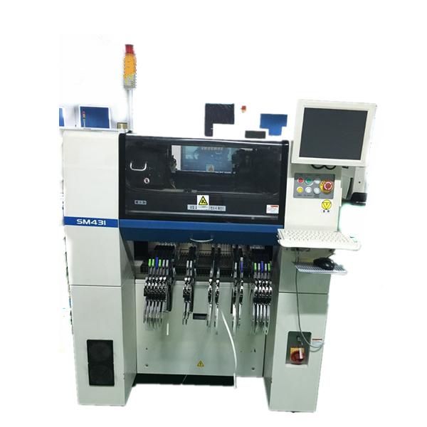 Segunda mano maquina de montaje de SMT Samsung-SM431