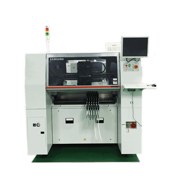 Segunda mano maquina de montaje de SMT Samsung-SM482