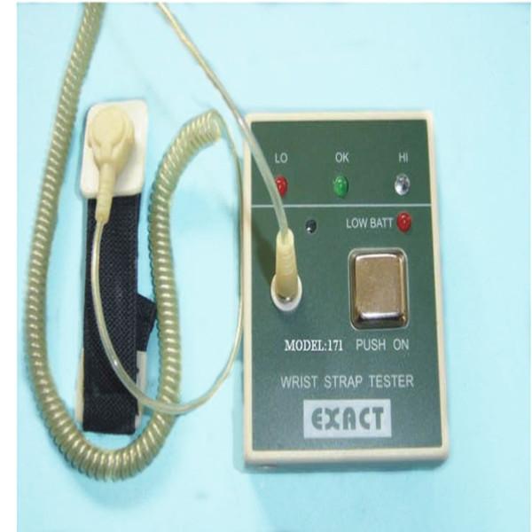 Probador de alta calidad de la correa de muñeca de ESD E0802, monitor en línea