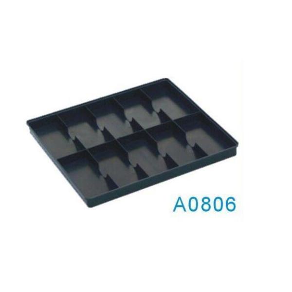 A0806 Bandeja de plástico de embalaje Cleanroom ESD