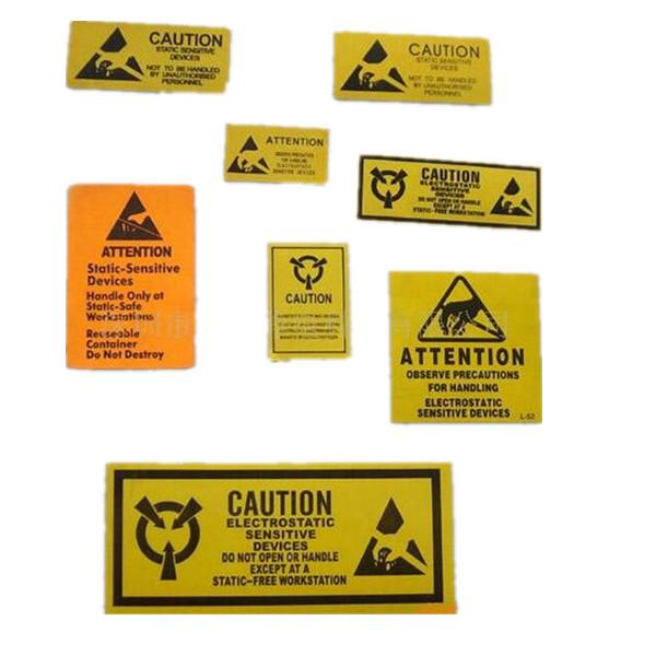 Cleanroom etiqueta de advertencia