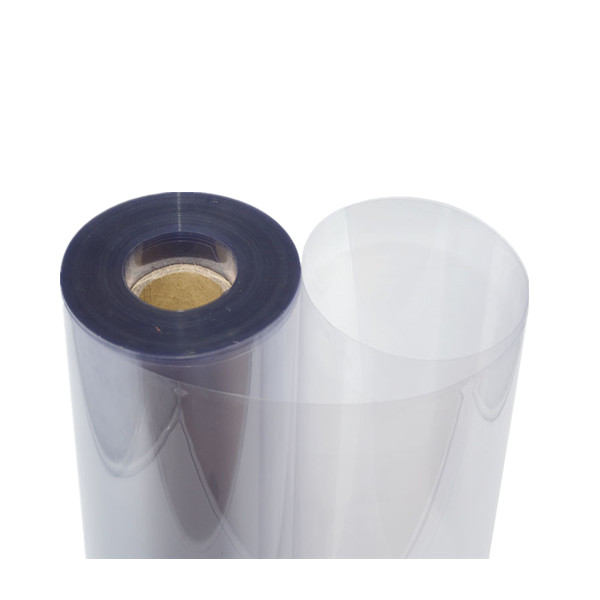 Permanent antistatic transparent PET Roll
