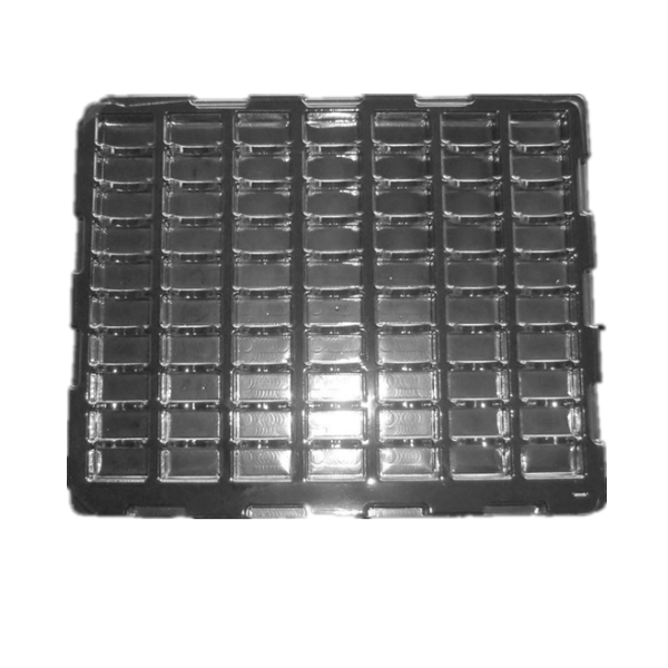 Antistatic PET tray
