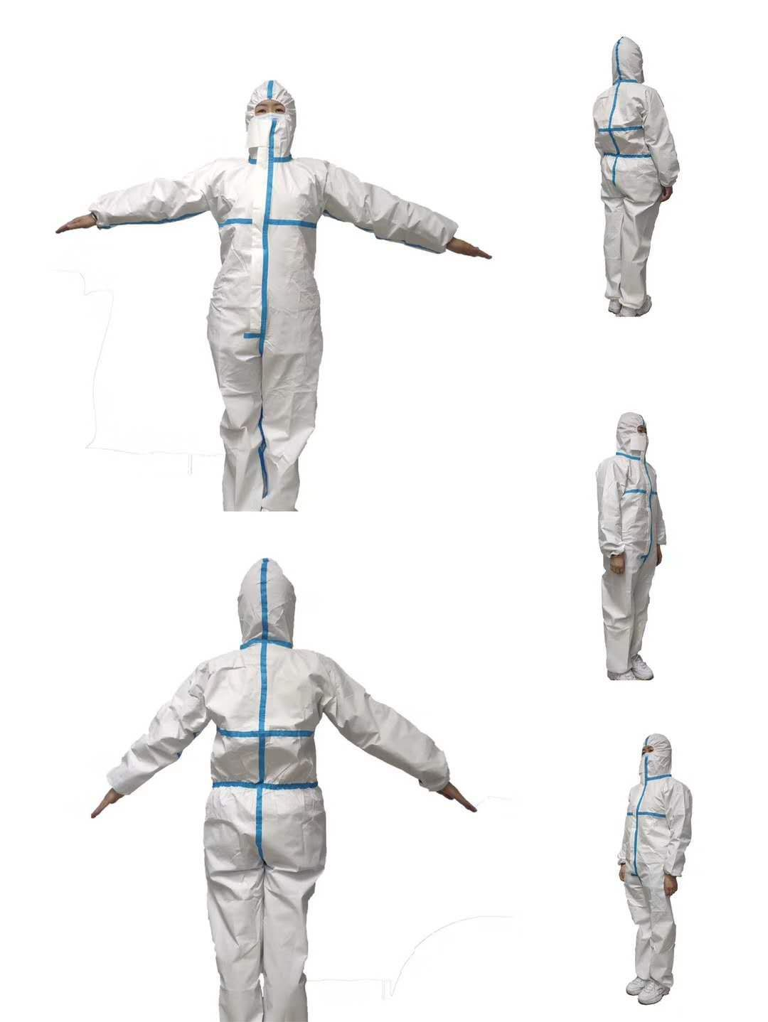 C0904 Disposable Non-Woven Medical Coverall